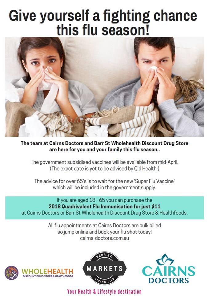 2018 Flu Season – Cairns Doctors