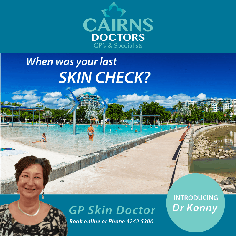 Popular Skin Cancer Doctor Dr Konny Komlovari moves her practice Cairns Doctors on Barr St